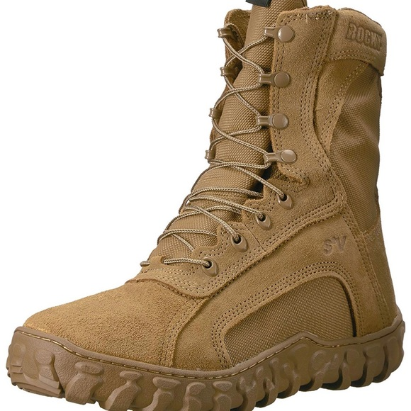 Rocky Brown Military Tactical Boots